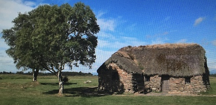 Photo of the battlefield at Culloden