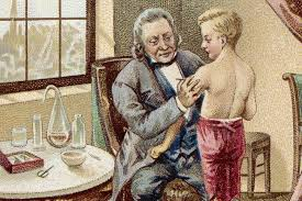 Edward Jenner vaccinating James Phipps