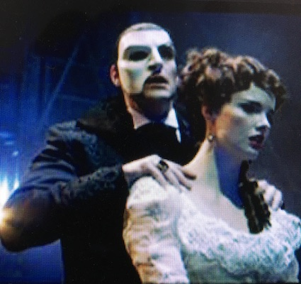 Phantom and Christine from Love Never Dies