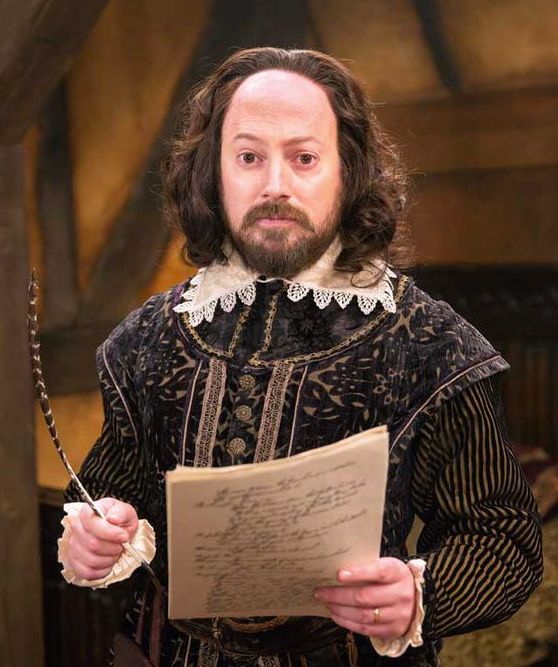 David Mitchell as Shakespear