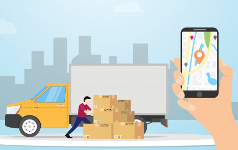 Delivery driver and tracking app