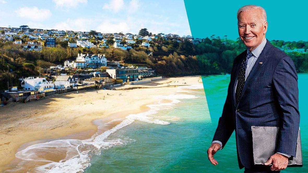 Biden in Carbis Bay for G7